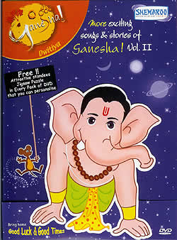 More exciteing songs and stories of Ganesh Volume 2(DVD-484)