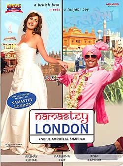 namastey LONDON [DVD]の写真