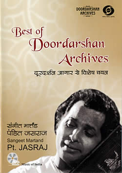 Doordarshan Archives - Sangeet Martand Pt. Jasraj [1DVD](DVD-642)
