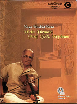 Doordarshan Archives - Prof. T. N. Krishnan Vol. 1 [1DVD](DVD-651)
