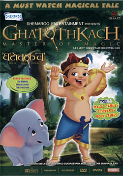 Ghatothkach - Master of Magic [DVD](DVD-823)