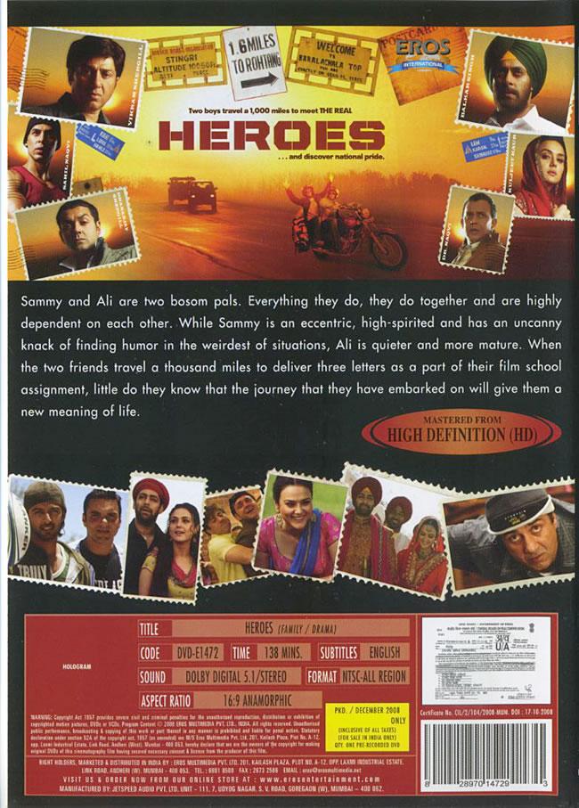 Heroes [DVD]の写真1