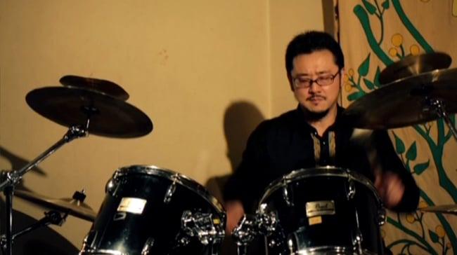 JUNZO TATEIWA SOLO Live At Otoya-Kintoki(2015.7.4SAT) [DVD] 6 - 後半はドラムの演奏もあります