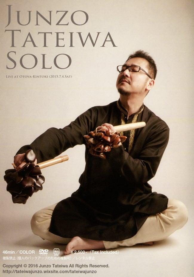 JUNZO TATEIWA SOLO Live At Otoya-Kintoki(2015.7.4SAT) [DVD]の写真