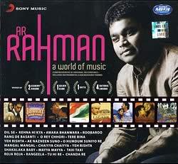 A. R. RAHMAN - a world of music[MP3]の写真