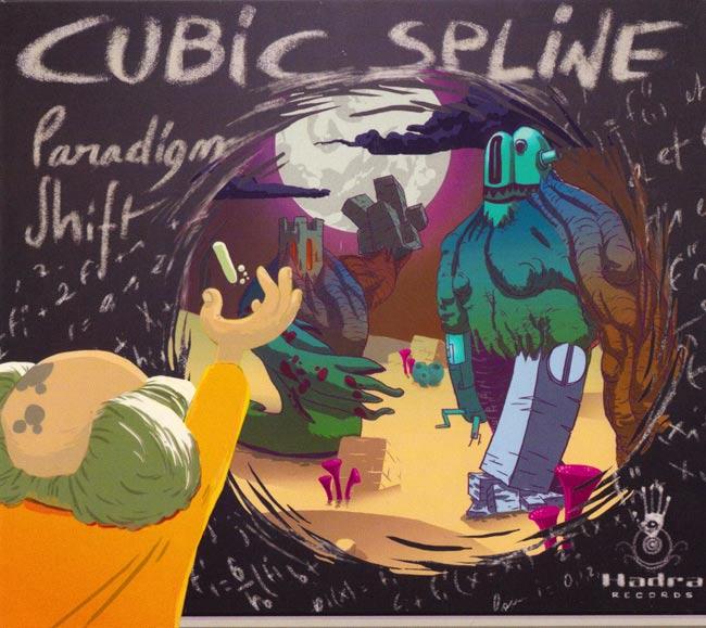Paradigm Shift - Cubic Splineの写真