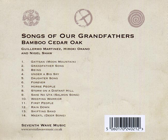 Bamboo Cedar Oak - Songs Of Our Grandfathers 2 -