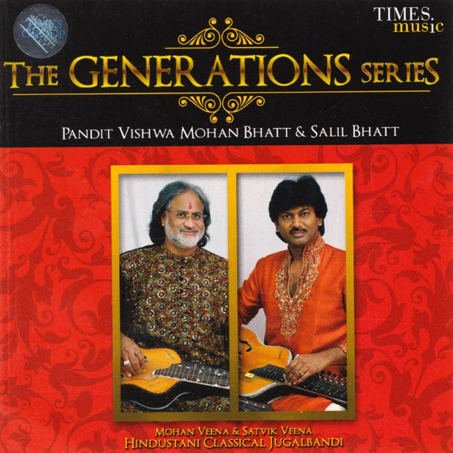 The Generations Series Pt.Vishwa Mohan Bhatt & Salil Bhattの写真