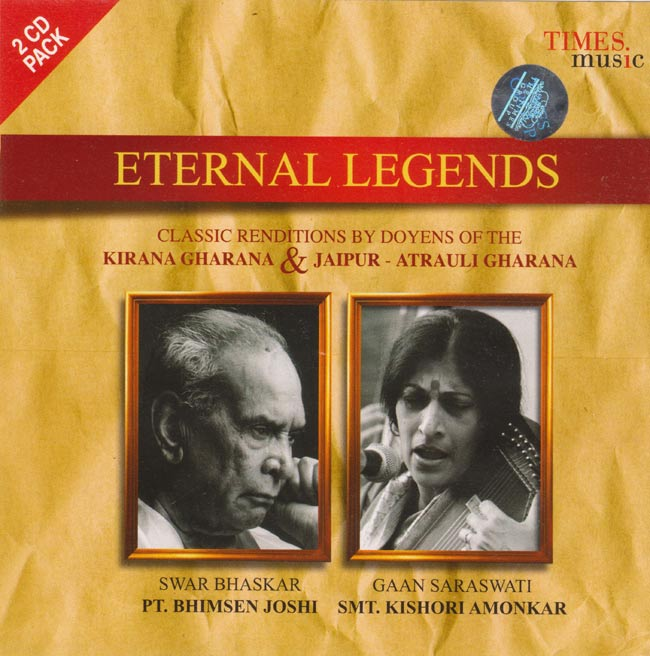 Eternal Legends - Pt.Bhimsen Joshi,Smt.Kishori Amonkarの写真