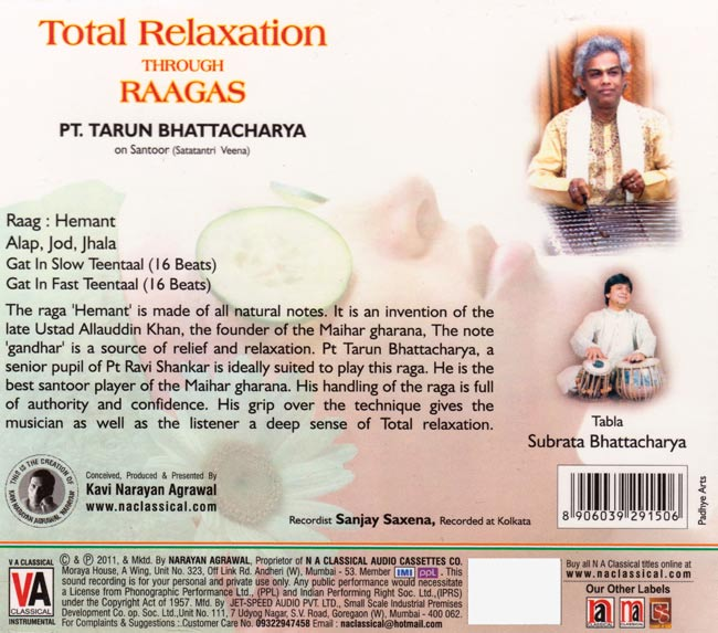 Total Relaxation Through Raagas 2 -