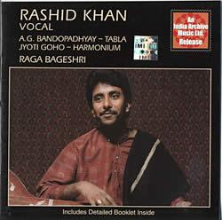 India Archive Music - Rashid Khan[Raga Bageshri]の写真