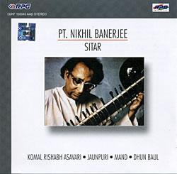 Pt. Nikhil Banerjee - Sitarの写真