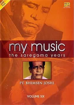 my music - the saregama years - PT. BHIMSEN JOSHI vol.6の写真