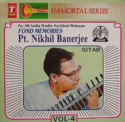 Pt.Nikhil Banerjee Collection Vol.4の写真