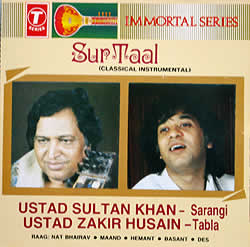 Sur Taal - Zakir Husain and Ustad Sultan Khanの写真