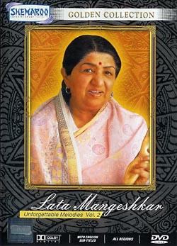 Golden Collection - Lata Mangeshkar Unforgettable Melodies Vol. 2(MDVD-33)