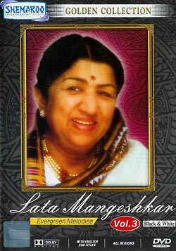 Golden Collection - Lata Mangeshkar Evergreen Melodies Vol. 3 [Black and White](MDVD-34)