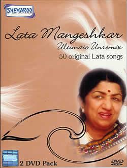 Lata Mangeshkar - Ultimate Unremix [2 DVD](MDVD-36)