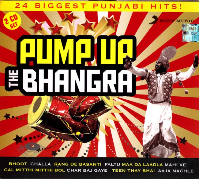 PUMP UP THE BHANGRA[CD 2枚組]の写真