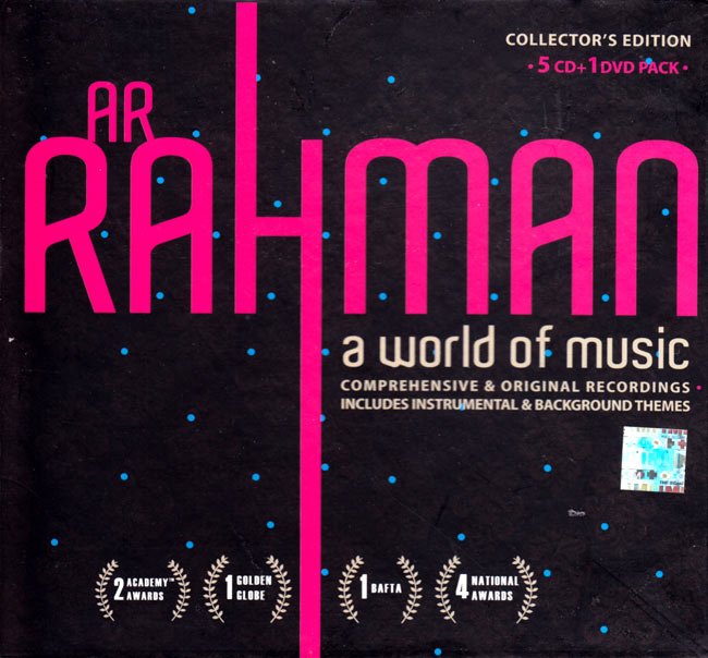 A.R.RAHMAN - a world of music[CD 3枚組]の写真