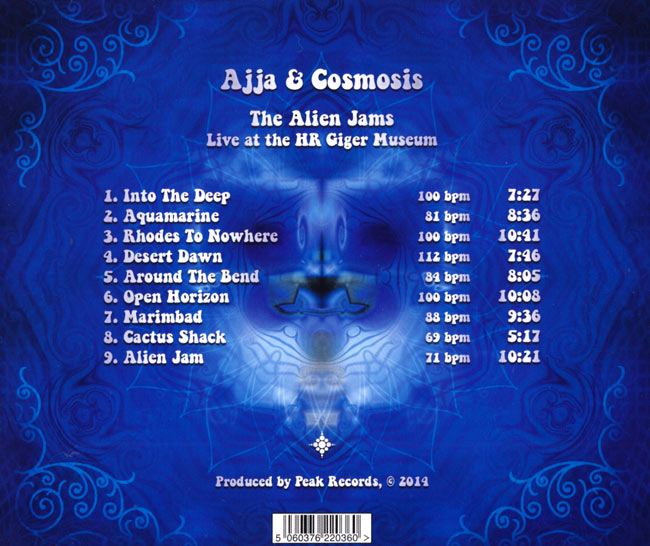 Ajja&Cosmosis - The Alien Jams Live at HR Giger Museum 2 -