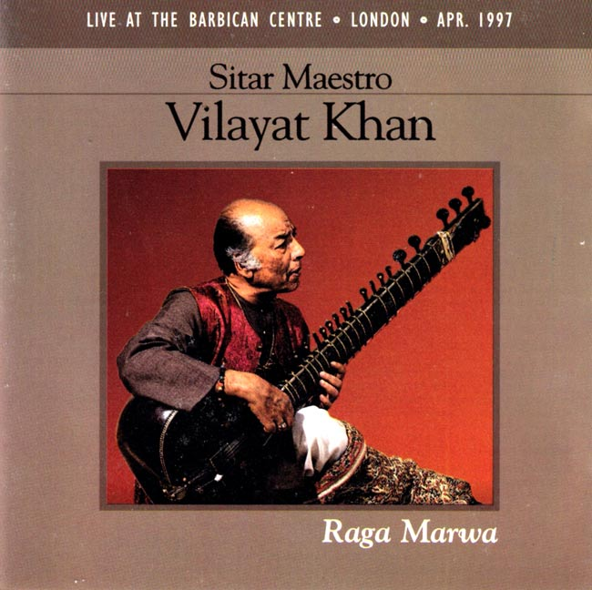 Sirat Maestro Vilayat Khan - Raga Marwaの写真