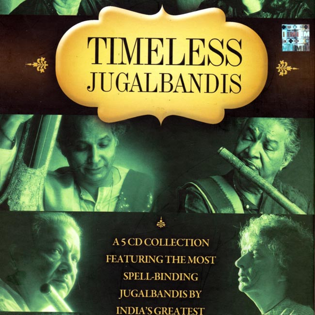 TIMELESS JUGALBANDIS - 5 CD collectionの写真