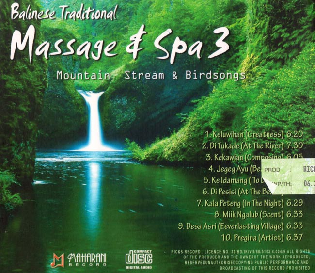 Balinese Traditional Massage&Spa3 Mountain Stream&Birdsongsの写真2 -
