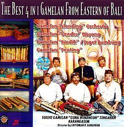 THE BEST 4 IN 1 GAMELAN FROM EASTERN OF BALI