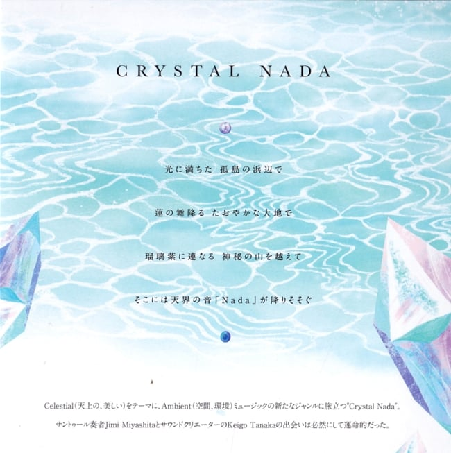 CRYSTAL NADA - 水晶宮 - Crystal Palace[CD]の写真3 - CDのレーベル面です