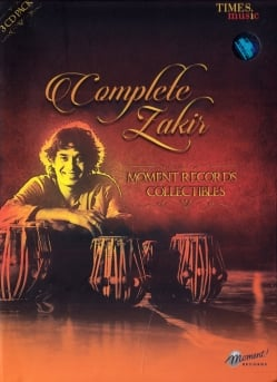 Complete Zakir - MOMENT RECORDS COLLECTIBLES[CD 3枚組]