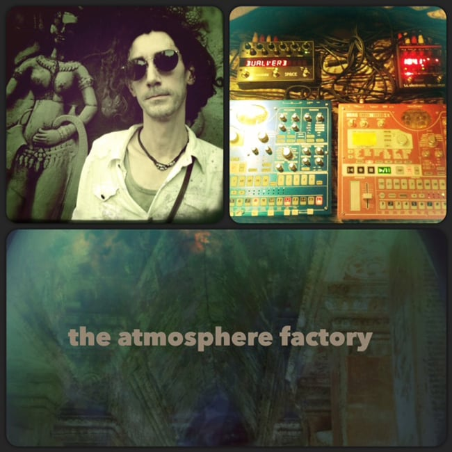 Atmosphere Factory[CD]の写真3 - GIOが使用している機材たち