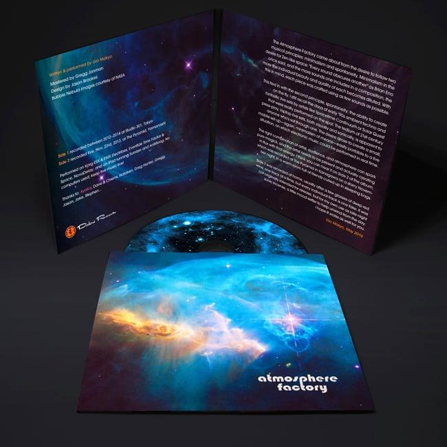 Atmosphere Factory[CD]の写真4 - このようなパッケージになります