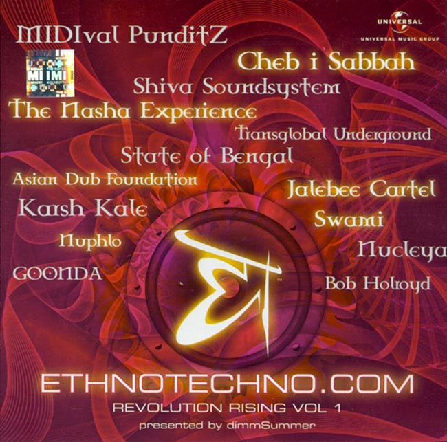Ethnotechno.com Revolution Rising Vol.1[CD]の写真