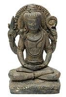 バリのアンティーク風石像 - シヴァ