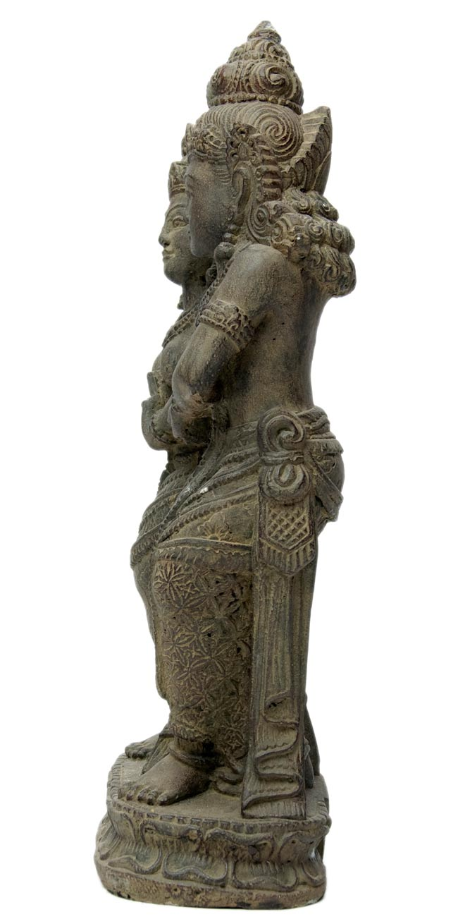 バリのアンティーク風石像 - ラーマ&シータの写真4 - 反対側からです