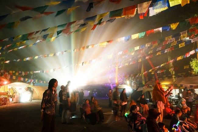 [E-TICKET版]インド系野外フェス - DANCE OF SHIVA2017の写真6 - 美しいライティングとレーザー