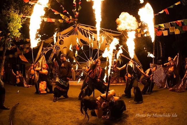 [通常チケット版]インド系野外フェス - DANCE OF SHIVA2017 7 - 真夜中のファイヤーショー