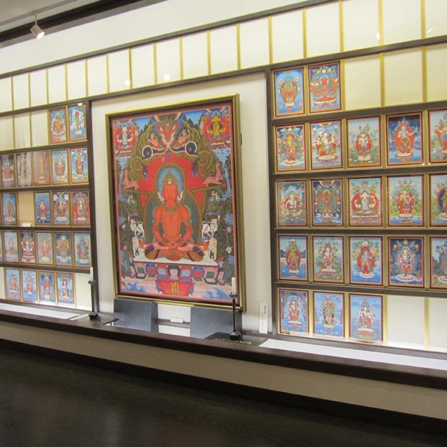 Sangeet Mela TOKYO - インド古典オールナイトコンサート -  3 - 国宝級の素晴らしい曼荼羅も見ることが出来ます