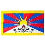 チベットの国旗-大[105cm x 60cm]
