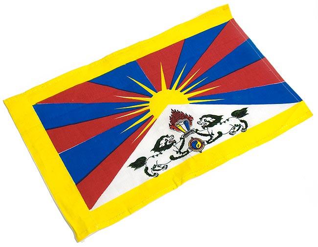 チベットの国旗-小[38cm x 23.5cm]の写真