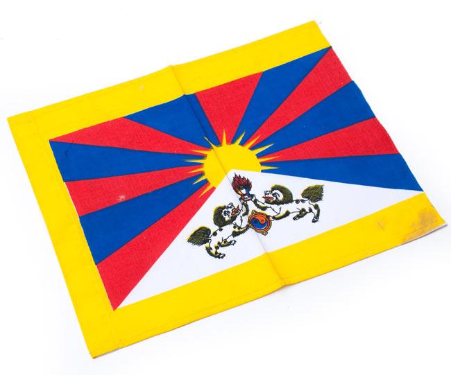 チベットの国旗-小[31cm x 24cm]の写真