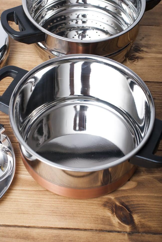 イドリーメーカー [4個×3段] 5 - 外鍋です
