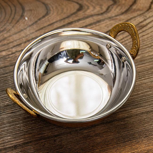 カダイ [装飾持ち手付](直径:約13.5cm)の写真3 - 取っ手部分の拡大です