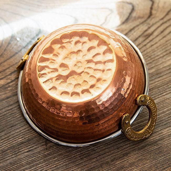 カダイ [装飾持ち手付](直径:約13.5cm)の写真4 - 裏面です