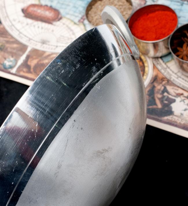 カダイ アルミ製で軽く扱いやすい 【直径26.3cm】 4 - 横からの写真です