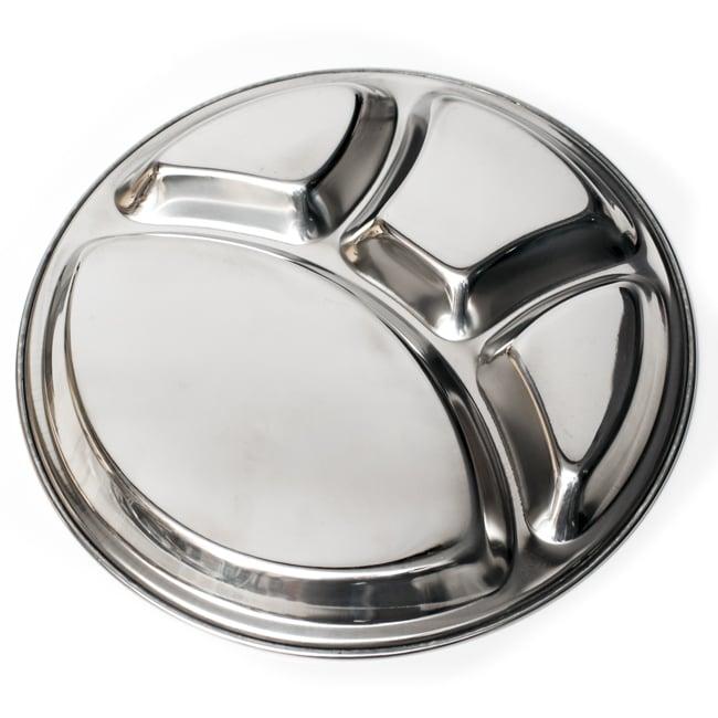 カレー丸皿【32cm】 6 - 裏面の様子です。