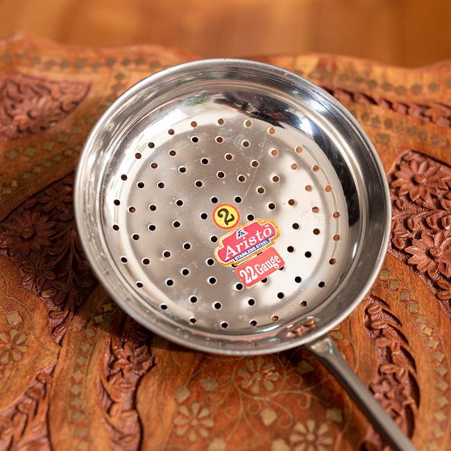 プーリー用かす揚げ [43cm] 2 - 小さな穴があいているので油切れが良いです。