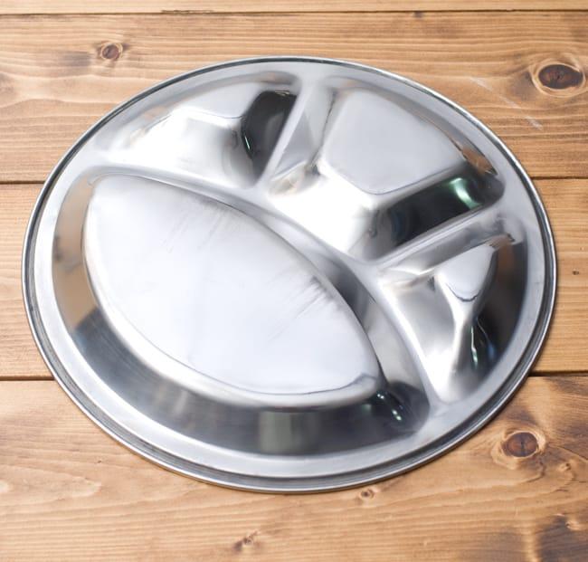 カレー丸皿【31.5cm】良品質 5 - 裏面もシンプルで洗いやすいです。