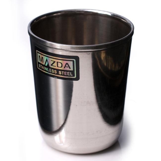 チリチリと音が鳴る!! ステンレスのチャイカップ [直径6.5cm×高さ7.4cm] 2 - どうみても普通なのですが…振るときれいな音がします。
